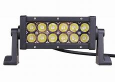 Quake Led Lights Quake Led 8 Quot 36 Watt Magma Series Light Bar Red White