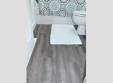 Applying Peel and Stick Floor Tiles   DIYIdeaCenter.com