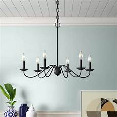 4 Light Candle Chandelier By August Grove Strother 6 Light Candle Style Chandelier In 2020 Candle