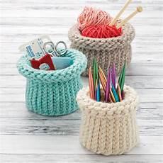 loom knit nesting baskets boye