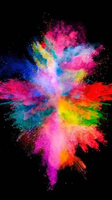 iphone xr cool wallpaper colorful explosion on the black background for your iphone