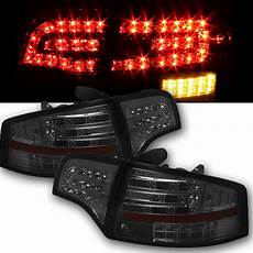 Audi A4 Smoked Lights 05 08 Audi A4 S4 Rs4 4dr Sedan Euro Style Led