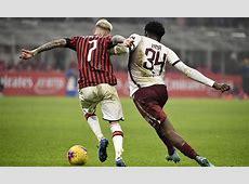 11 stats ahead of ac milan v torino   AC Milan