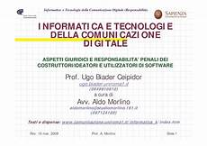 dispensa di informatica copyright e aspetti giuridici dispense
