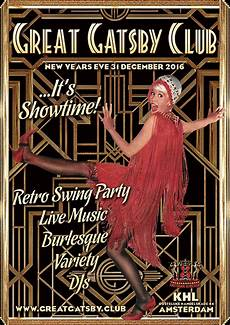 Great Flyers Great Gatsby Club 183 Nye Party Amp Show 183 31 December 2016