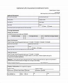 Student Enrollment Form Template Insurance Enrollment Form Template What I Wish Everyone
