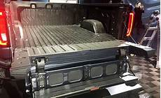 2019 gmc 2500 tailgate new 2019 gmc 1500 gets carbon fiber bed and a wacky