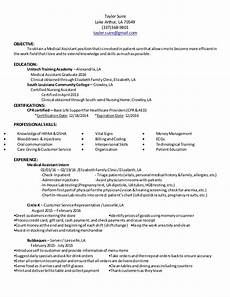 Ma Resumes Examples Ma Resume