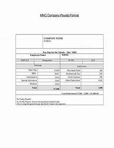 Basic Payslip Template Excel Download Top 5 Free Payslip Templates Word Templates Excel Templates