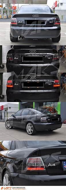 Audi A4 Prnds Lights Smoked Black Led Lights For Audi A4 S4 B5 95 98 99 01
