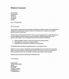 Cover Letter Example For Assistant 6 Medical Cover Letter Templates Free Sample Example