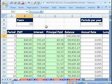 Adjustable Amortization Schedule Excel Magic Trick 407 Amortization Table W Variable Rate