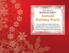 Annual Holiday Party Invitation Template 14 Free Diy Printable Christmas Invitations Templates