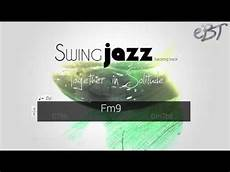 minor swing backing track swing jazz backing track in f minor 130 bpm