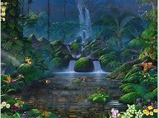 Fascinating Waterfalls   Free Animated Screensaver