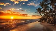 strand solnedgang solnedg 229 ng i havet stranden hd tapet nedladdning