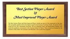 Most Improved Award Trombone Studio Awards Eastman Trombone Studio Eastman