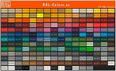 Buy Ral Color Chart Ral Color Charts Shades And Swatches