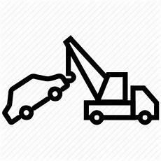 crane crane truck hook rescue truck tow