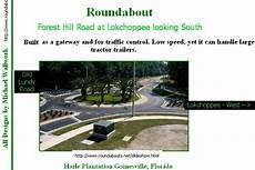 Cost Of Roundabout Vs Traffic Light Forest Hill Road In Macon Ga Vs Moreland Altobelli