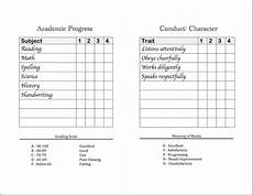 Printable Report Cards Homeschool Report Cards Flanders Family Homelife