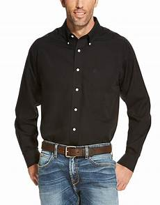 mens button shirts sleeve arm ariat s wrinkle free classic fit sleeve solid