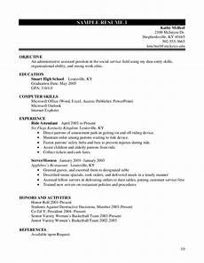 High School On Resume High School Student Resume Worksheet Free Download
