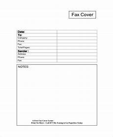 Free Fax Cover Letter Templates Free 7 Sample Fax Cover Letter Templates In Pdf Ms Word