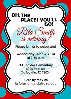 Retirement Party Invitation Template Free Retirement Party Invitations Free Templates Retirement