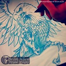 Allen Eagle Designs Patriotic Eagle And Flag T Shirt On Behance