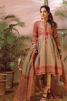 2018 Designer Collection Bonanza Satrangi Summer Lawn Designer Dresses 2018 2019