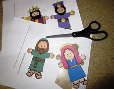 Printable Bible People 1 Minute Bible Love Notes Children S Play Nativity