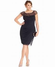 Xscape Plus Size Dresses Size Chart Xscape Plus Size Dress Cap Sleeve Beaded Plus Size