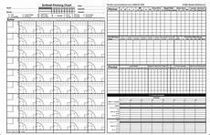 Softball Pitching Chart Template Softball Pitching Charts More Than Era Pitching