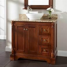 30 quot reese walnut vessel sink vanity bathroom