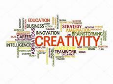 Word For Creative Creativity Word Cloud Creative Word Cloud Stock Vector