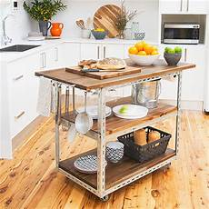 Mobile Kitchen Islands Ideas And Inspirations Home Dzine Kitchen Diy Mobile Kitchen Island Or Workstation
