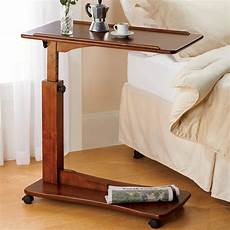 adjustable bedside table standing desk for breaks
