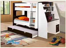 california single bunk beds with trundle bed and desk
