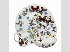 Christian Lacroix Butterfly Parade 4 Piece Dinnerware Set