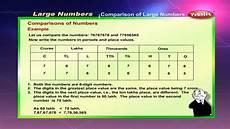 International Value Chart Cbse 5th Cbse Maths Large Numbers Ncert Cbse
