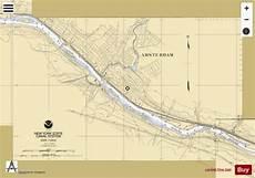Mohawk River Depth Chart Mohawk River Amsterdam Marine Chart Us14786 P1093