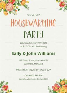 Housewarming Invitation Samples Colorful Housewarming Invitation Design Template In Psd