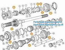 Ford Gearbox Parts Ford Type 9 Gearbox Parts Standard