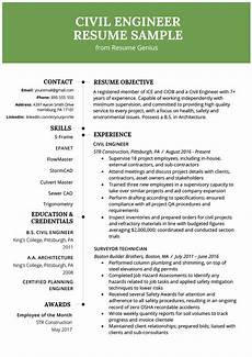 Civil Engg Resume Civil Engineering Resume Example Amp Writing Guide Resume