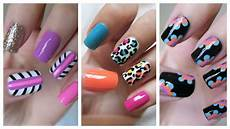 Nail Art Easy Easy Nail Art For Beginners 21 Jennyclairefox Youtube