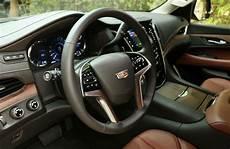 2019 Cadillac Escalade Interior by 2019 Cadillac Escalade Esv Premium Luxury 4wd Test Drive