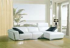 Modern Leather Sofa 3d Image by 8010c Modern White Bonded Leather Sectional Sofa
