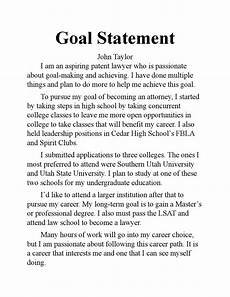 Career Goal Statement Goal Statement By Johnmtay Issuu
