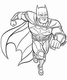 Malvorlagen Superhelden Kostenlos Ausmalbilder Batman Gratis Malvorlagentv